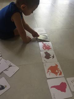 Mon coffret Montessori des animaux édition Nathan