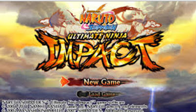Download Game NAruto Shippuden Ultimate Ninja Impact ISO CSO for PPSSPP
