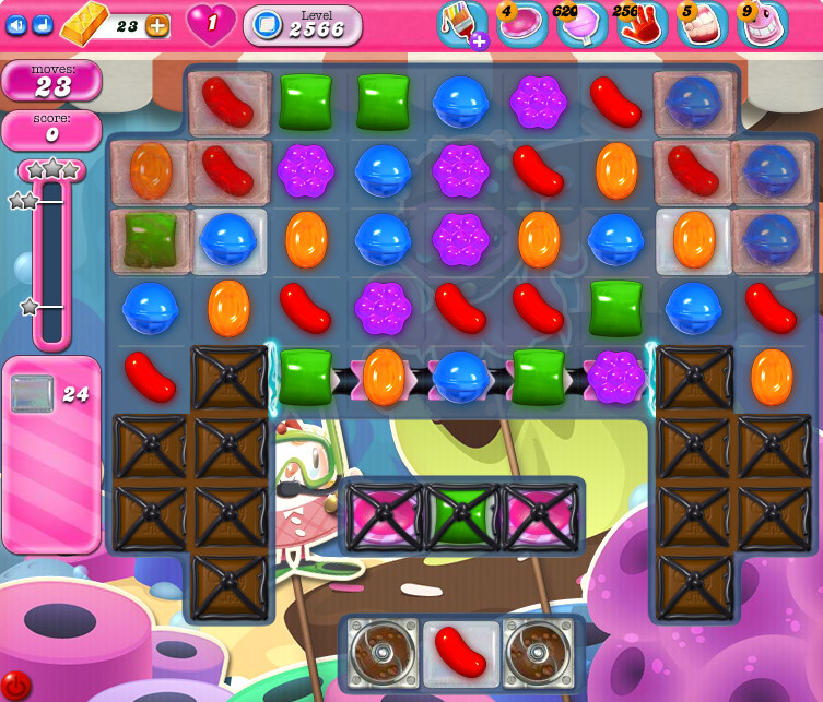 Candy Crush Saga level 2566