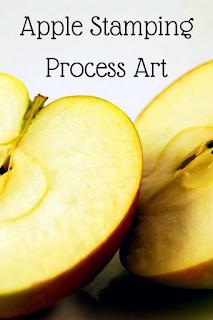 Apple Stamping Process Art