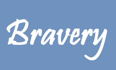 bravery in dark times