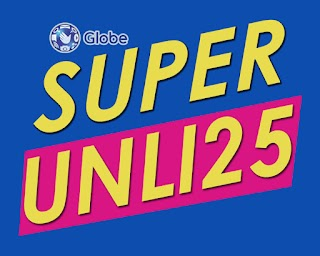 Globe SUPERUNLI25 – Unli Call and Text to All Networks and Viber