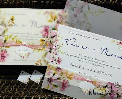 convite de casamento artesanal personalizado envelope vegetal estampa floral aquarelada delicado rosa rosê lilás luxo sofisticado wedding