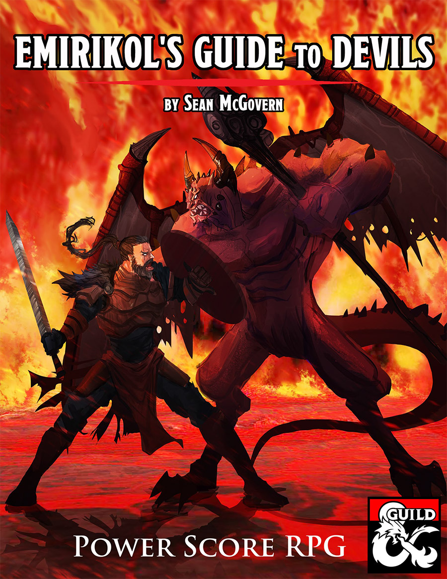My D&D 5th Edition Devil Sourcebook!