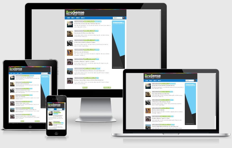 Download Template Brosense Mas Sugeng versi Desktop untuk Mywapblog