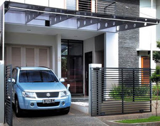 Rumah Minimalis Modern Contoh Model Kanopi Rumah