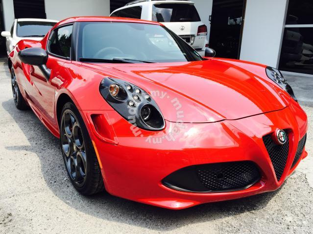 Motoring Malaysia Spotted for Sale Alfa Romeo 4C Launch