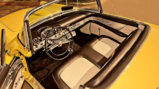 1955 Ford Thunderbird Convertible Interior 01