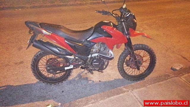 Osorno: fatal accidente de motociclista en Francke