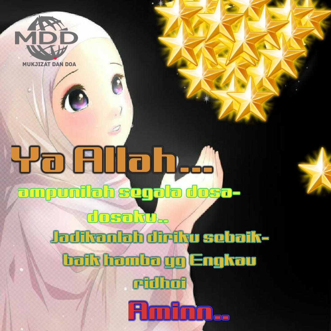 Kata Kata Doa Mutiara Kartun Muslimah Bergambar Kartun