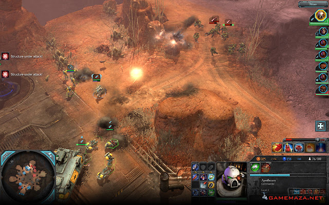 Warhammer 40000 Dawn of War II Retribution Gameplay Screenshot 2