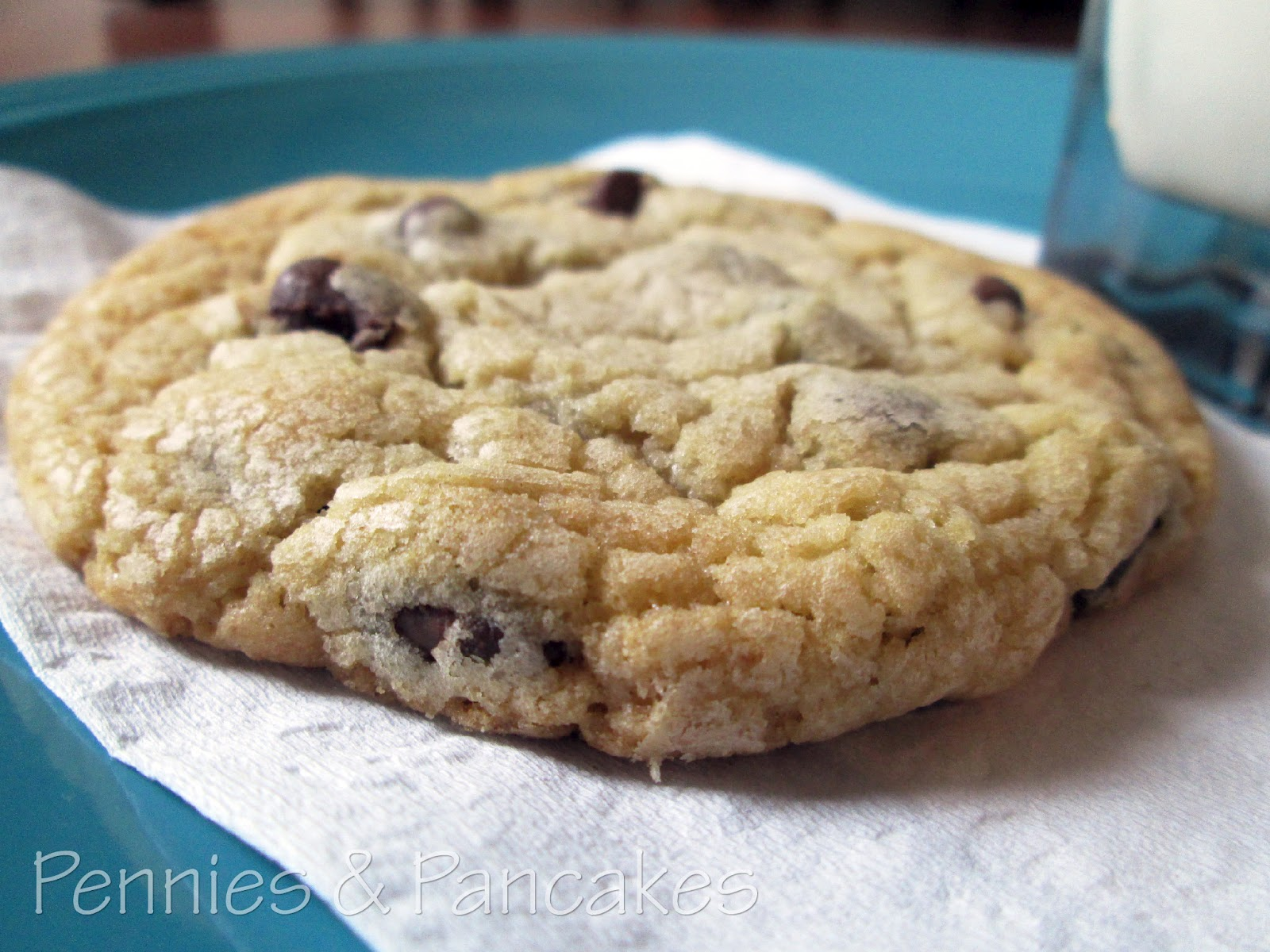 Pennies & Pancakes: Bakery-Style Chocolate Chip Cookies ($0.19 each)