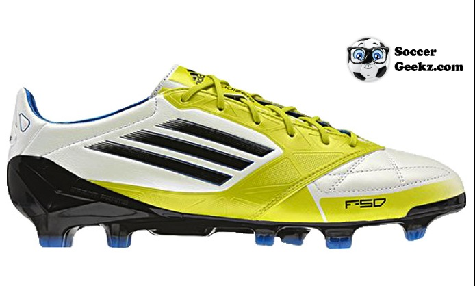 1e305a2fe Adidas F50 adiZero miCoach - White Black Lab Lime