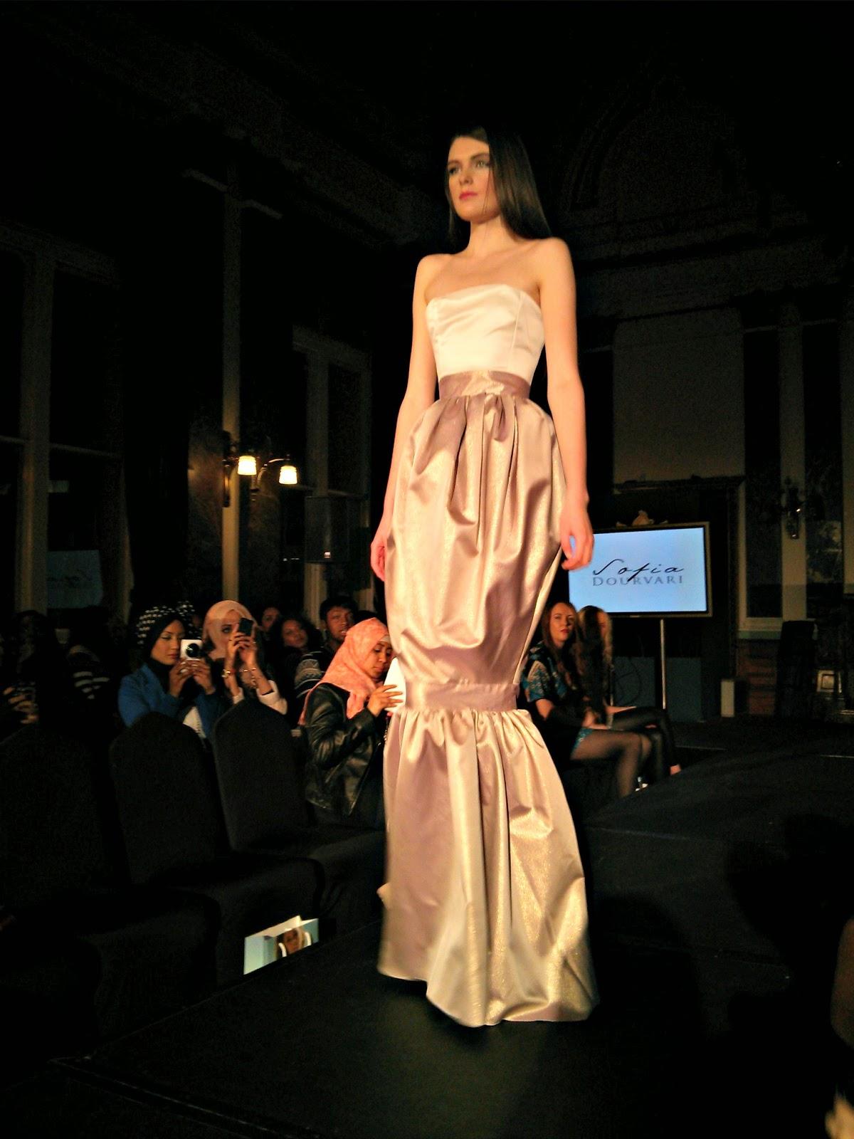 Sofia Dourvari fashion show