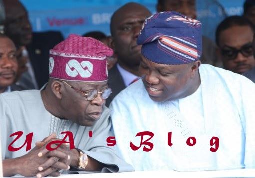Lagos APC Crisis: Ambode Meets Tinubu In Abuja, President Buhari Intervenes