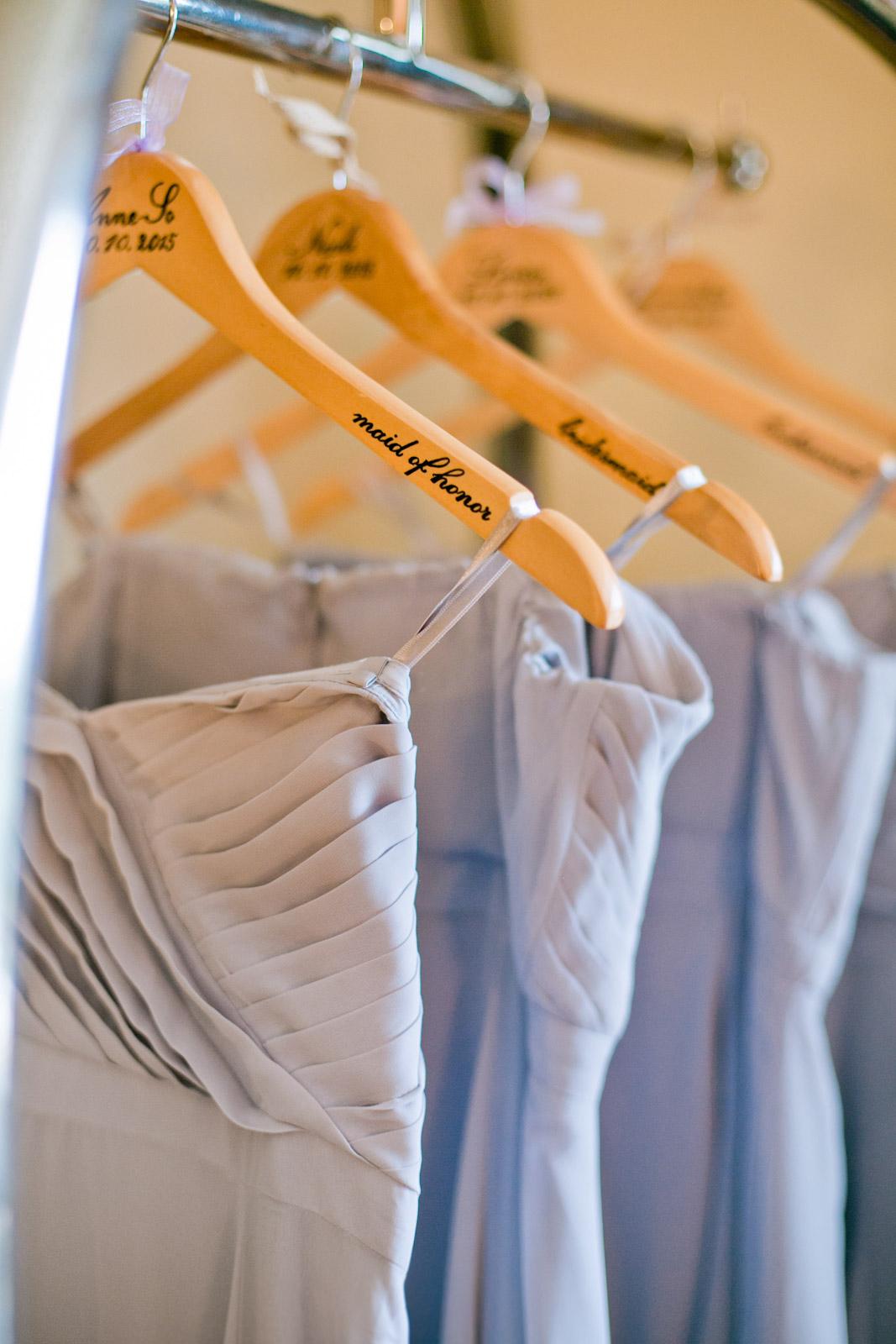 lavender bridesmaid dresses, wedding details