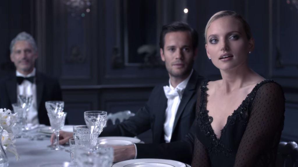 Modella Pubblicità Lancome La vie est belle profumo femminile'