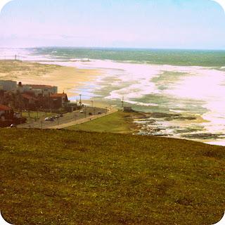 Praia Grande e Prainha Vistas do Morro do Farol