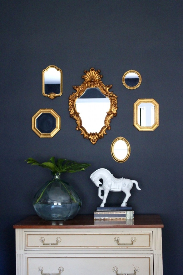 All Things Luxurious Navy And Gold Color Palette Love