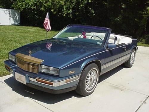 5k ragtop blues 1987 cadillac eldorado convertible dailyturismo daily turismo