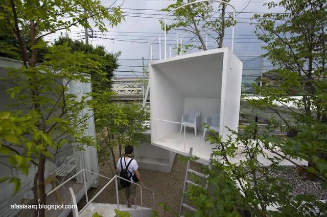 Casa conceptual japonesa