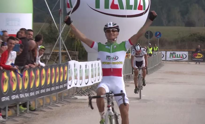 Gioele Bertolini remporte la 1ere manche du giro d'Italia