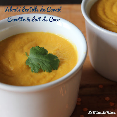Illustration Velouté Lentille de Corail - Carotte & Lait de Coco