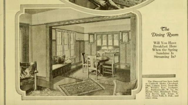sears sunbeam dining room 1921 catalog