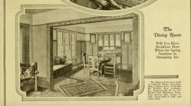 sears sunbeam dining room 1921 catalog