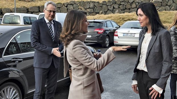 Princess Marie of Denmark started a three days visit to Faroe Islands as the patron of Danish Autism Foundation on the occasion of 25th anniversary of Faroe community.