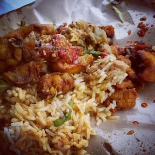 nasi viral, nasi kak wok