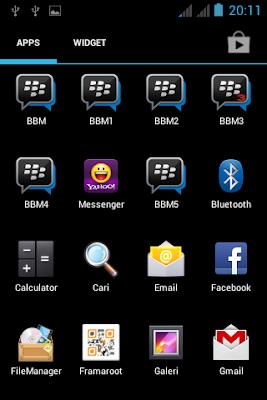 Dual BBM Apk Image