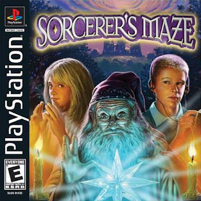 descargar sorcerer's maze psx por mega