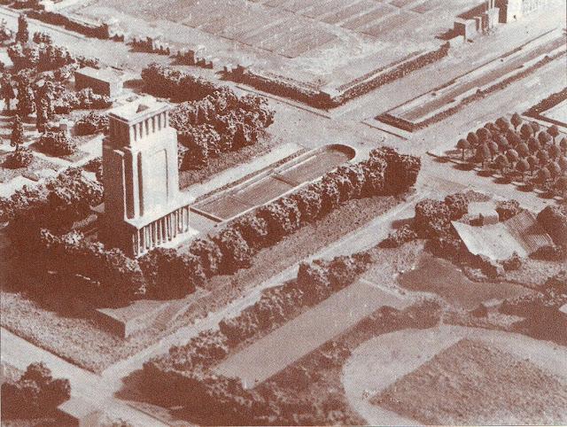 Вторая половина 1930-х (?) годов. Рига. Пардаугава. Проект храма в парке Победы (бывшем Петровском парке).