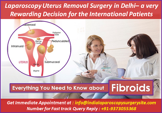 Laparoscopy Uterus Removal Surgery in Delhi – a Very Rewarding Decision for the International Patients