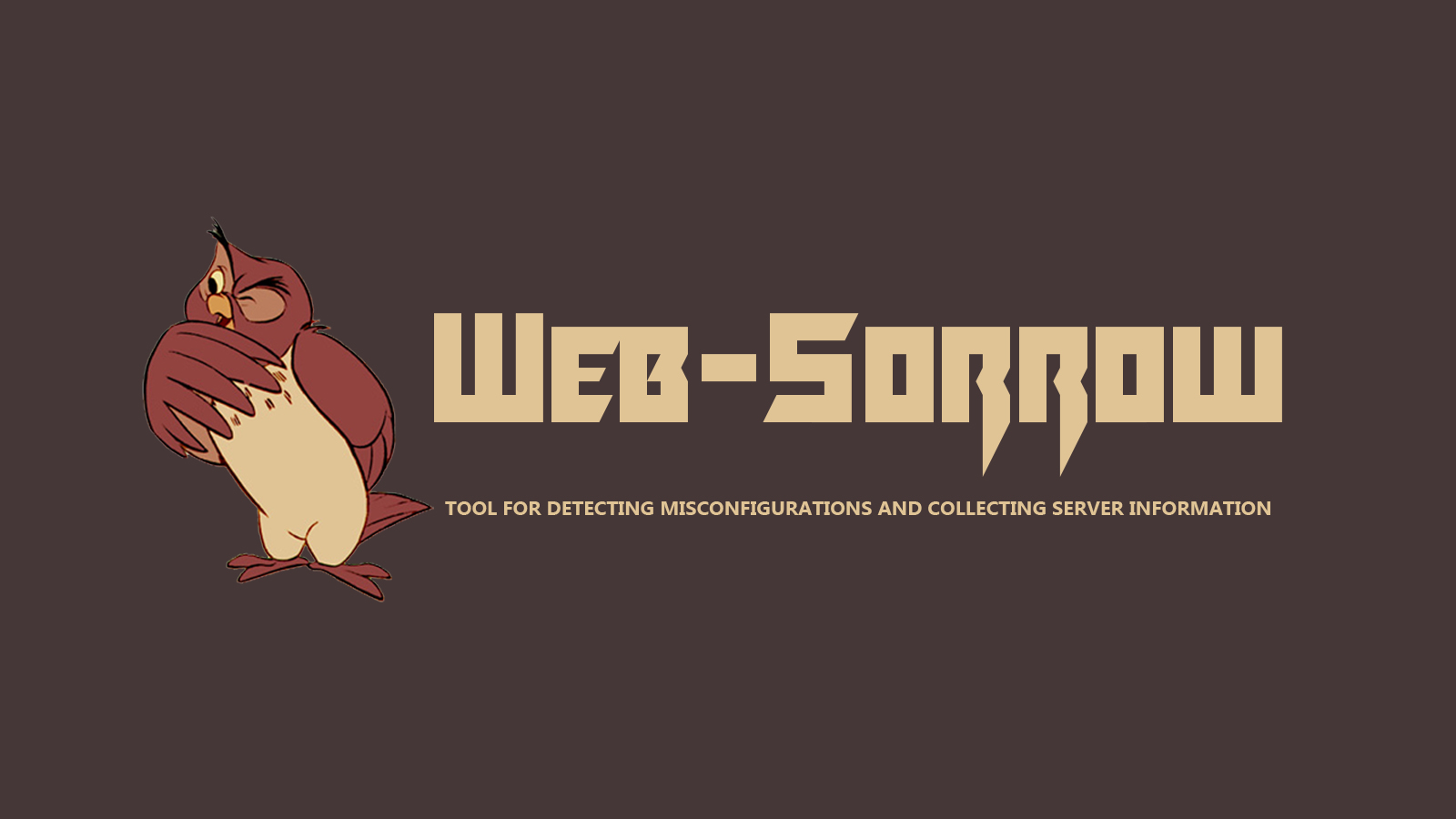 Web-Sorrow - Web server scanning Tool
