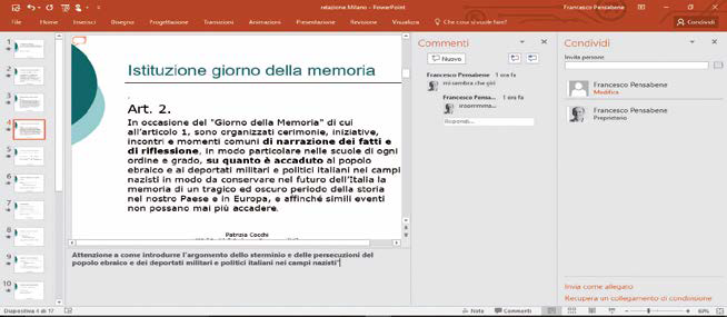 Come inserire Note in PowerPoint