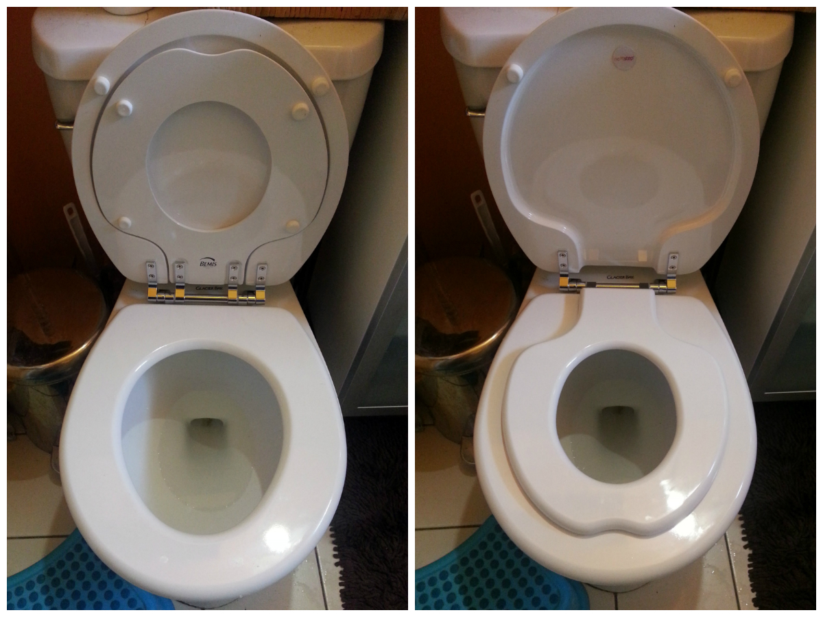bemis toilet seat with child seat. The Great Toilet Seat Battle Spokesmama