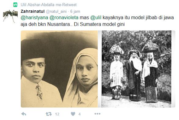 Jawaban untuk Gus Ulil: Jilbab Syar'i = Jilbab Timur Tengah?