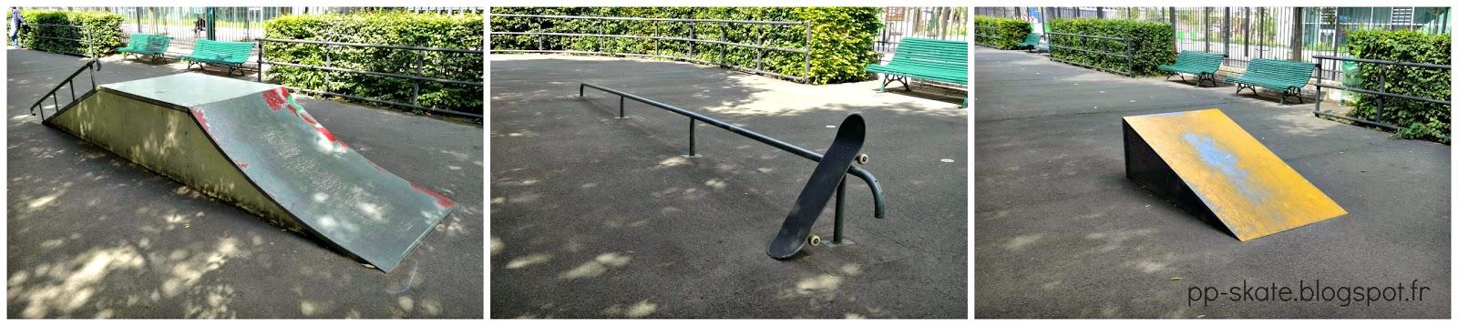Skatepark Paris porte de la chapelle macdonald