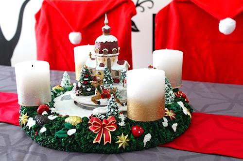 Keramik Adventkranz