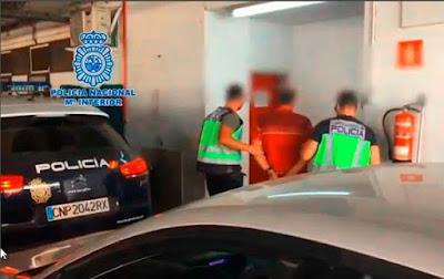 La pareja detenida por presuntamente estrangular y quemar a un indigente en el sur de Gran Canaria, ha sido detenida