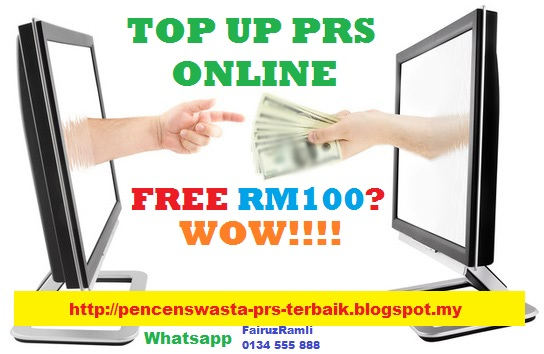 Top Up PRS 2017 Free RM100