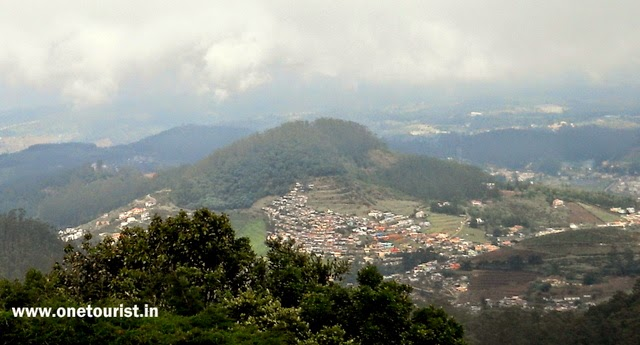 ooty tourist , places to visit , doddabetta hill