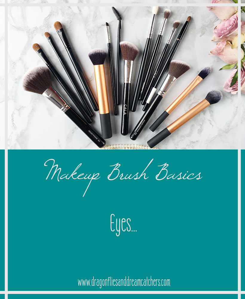 Makeup brushes needed for eyes