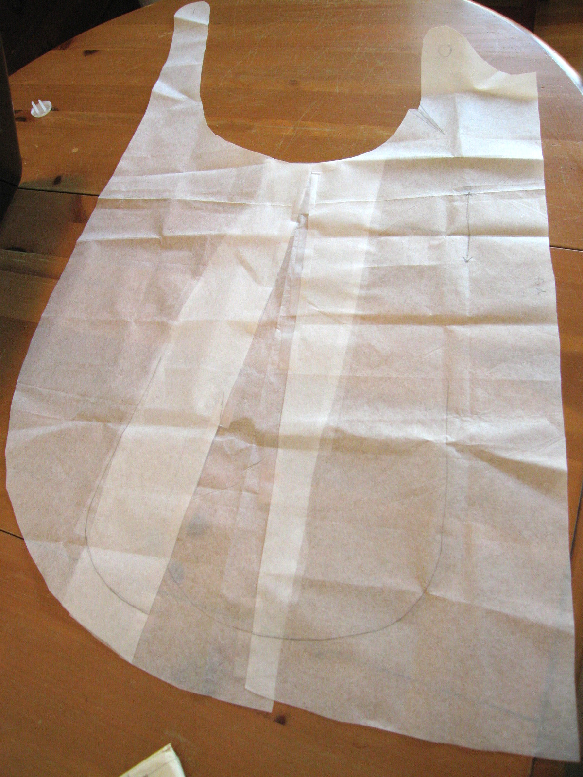 It S Handmade By Arianne The Crossback Apron Smock
