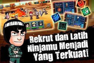 Ninja Rebirth Shinobi War Mod Apk auto level up