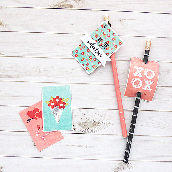 DIY Pencil Valentine