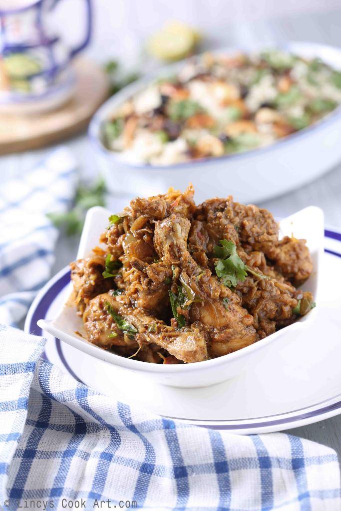 Chicken Milagu Varuval