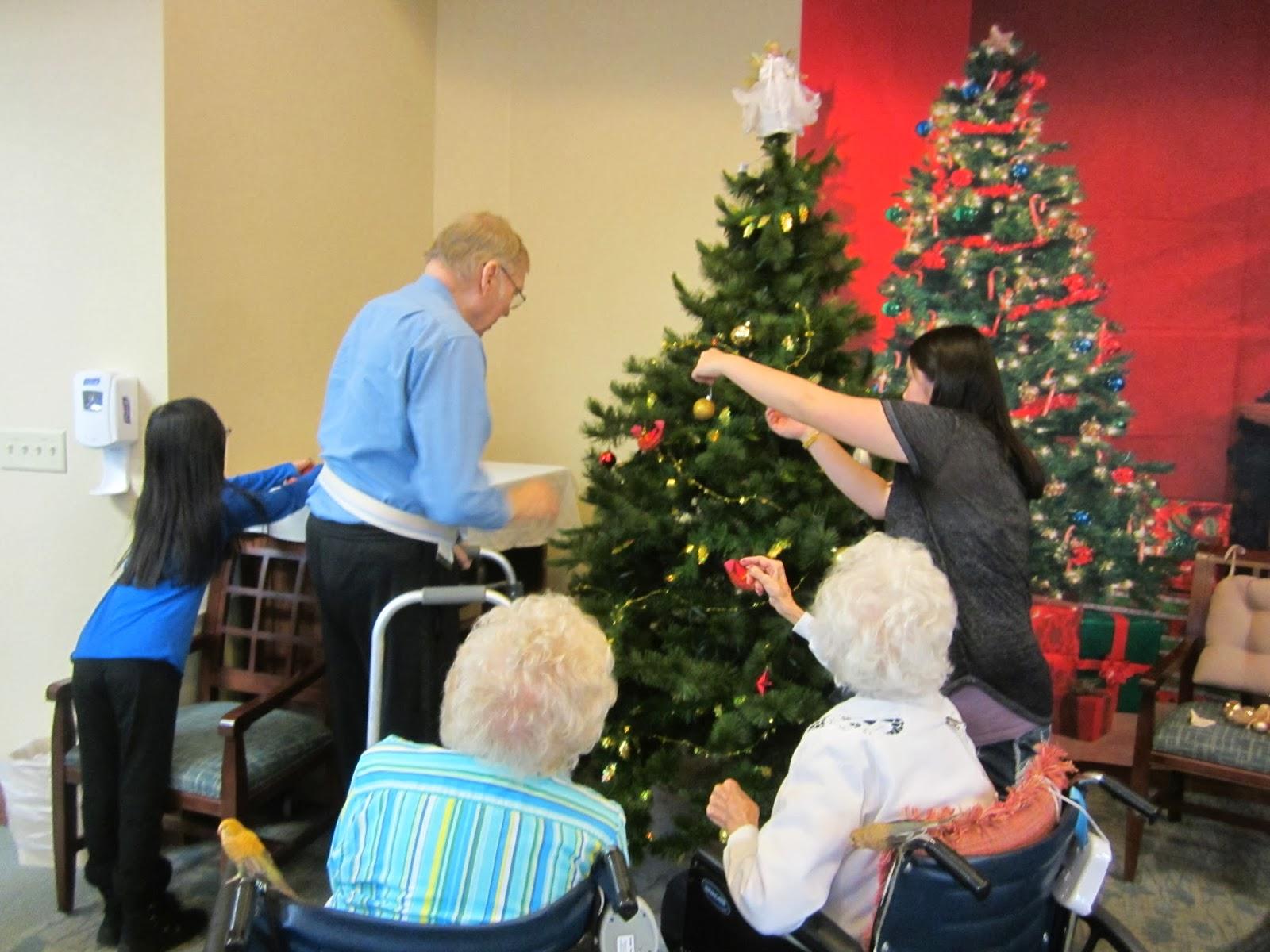 Decorating A Nursing Home For Christmas